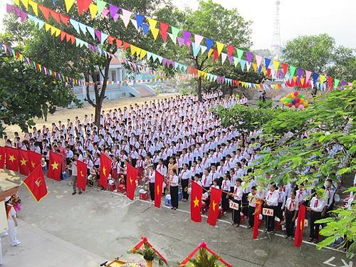 ベトナムの新学期