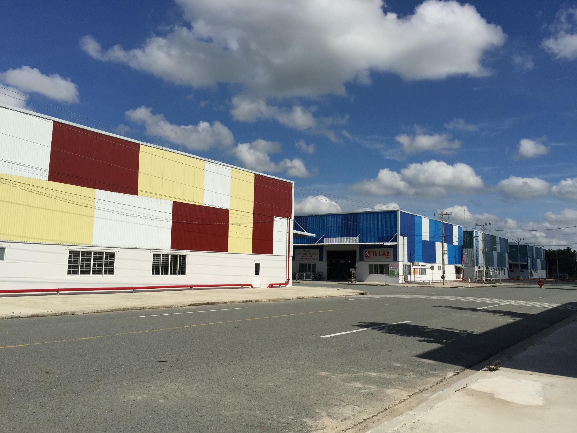 米系資本で建設されたレンタル工場